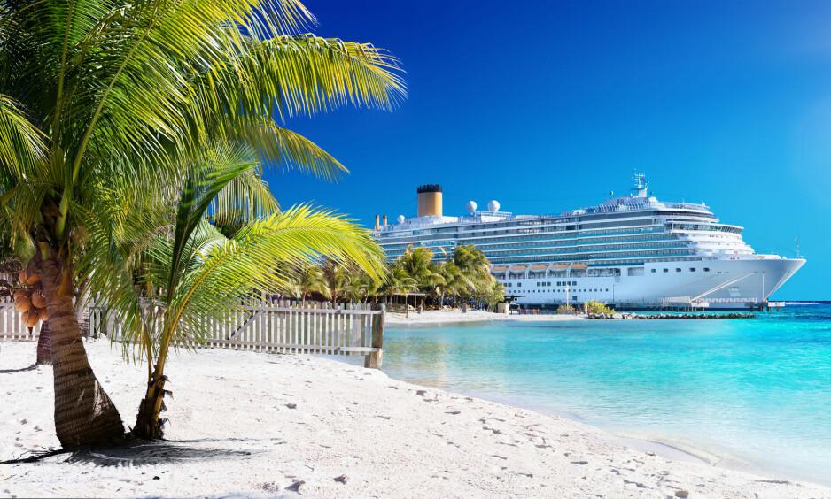 NY ARBEISPLASS? Du kan få sommerjobb på cruisebåt i sommer. Alt du trenger er å være god til å knipse Instagram-bilder. Foto: Shutterstock / NTB Scanpix
