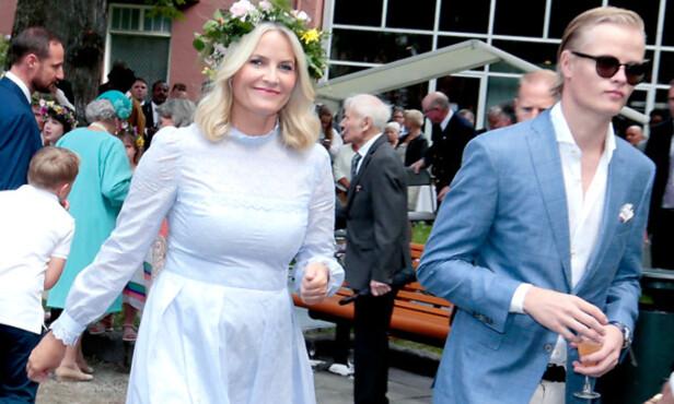 BEKYMRET FOR SØNNEN: Mette-Marit håper at norsk presse vil la Marius være i fred fremover. FOTO: NTB SCANPIX