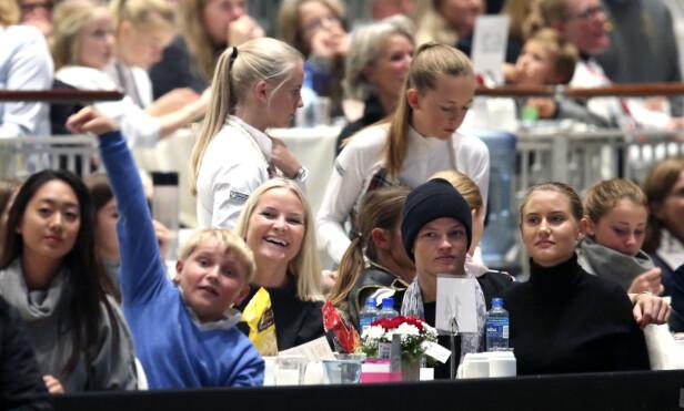 OSLO HORSE SHOW: Marius viste seg sammen med kjæresten sin Linn Helena Nilsen(20) under Oslo Horse Show i oktober. FOTO: Vidar Ruud/NTB Scanpix