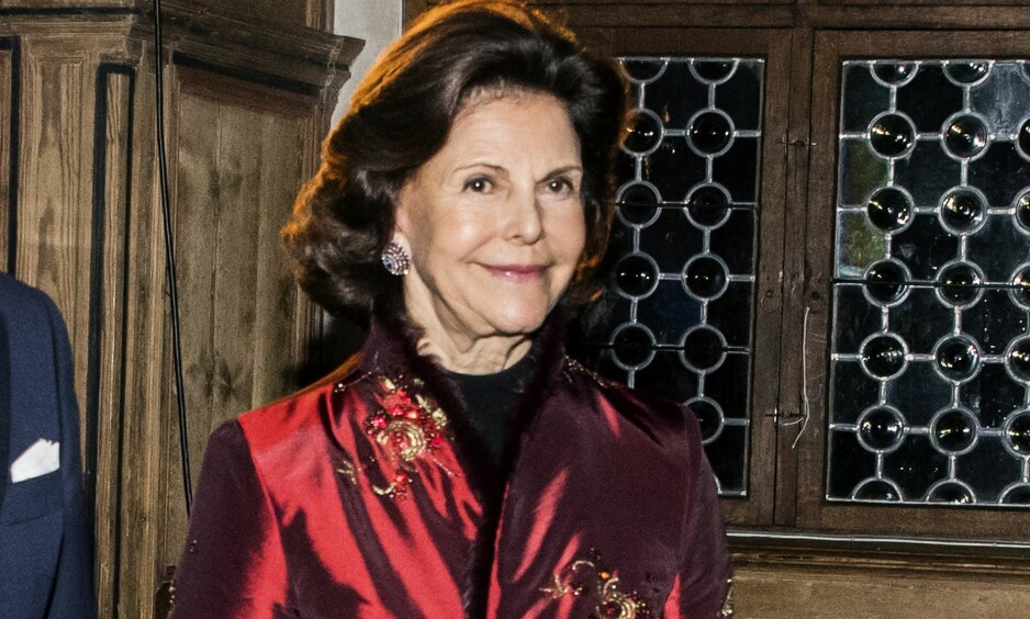 TILBAKE PÅ JOBB: På sin andre arbeidsdag tilbake på jobb, snakker dronning Silvia ut om den dramatiske julehelgen da hun ble innlagt på sykehus på grunn av svimmelhet. FOTO: IBL Bildbyrå/NTB Scanpix
