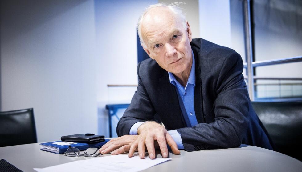 <strong>ALVORLIG:</strong> - Jeg har ikke vært borti noe så alvorlig i min tid på Stortinget, sier komitémedlem Per Olaf Lundteigen (Sp). Foto: John T. Pedersen / Dagbladet