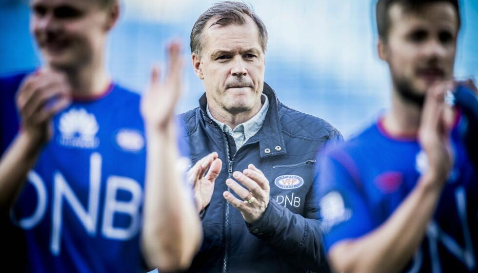 VIL HA NORDMANN: Kjetil Rekdal mener NFF bør velge en norsk trener når de ansetter ny landslagssjef. Foto: Thomas Rasmus Skaug / Dagbladet