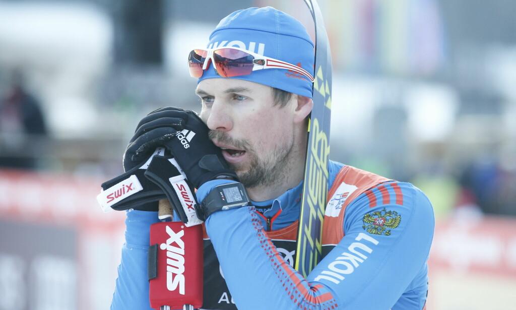 FRYKTER NORTHUG: Sergej Ustjugovs selvtillit er skyhøy. Men hvis Petter Northug dukker opp i storform i VM i Lahti, vil han ikke føle seg like sikker på seier, langt ifra. Foto: Terje Pedersen / NTB scanpix