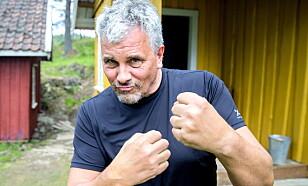 VANT TVEKAMPEN: Jarl Goli brettet opp ermene - og vant. Foto: Bjørn Langsem / Dagbladet
