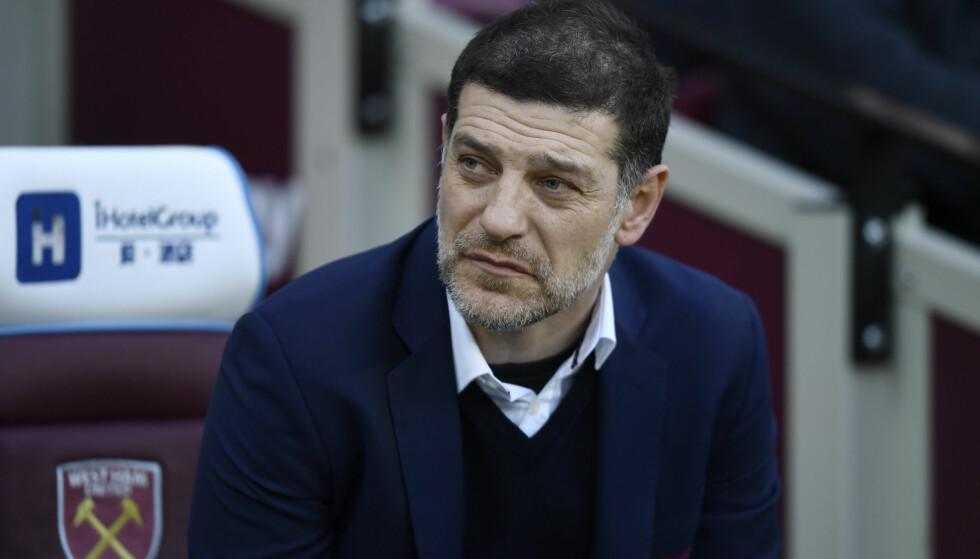 <strong>IKKE FORNØYD:</strong> West Ham-manager Slaven Bilic føler at Dimitri Payet har sviktet ham og klubben. Foto: Reuters / Tony O'Brien / NTB Scanpix