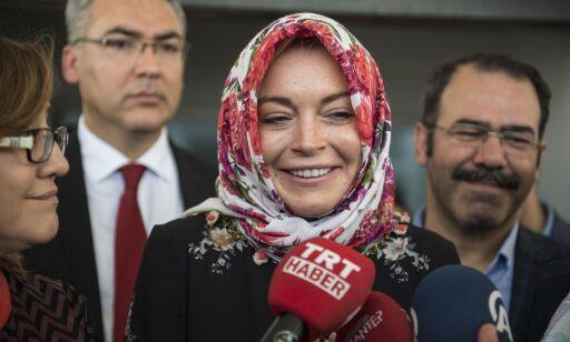 Lindsay Lohans forvandling vekker oppsikt: - Alaikum salam