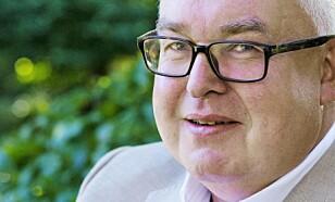 SPRÅKMANN: Trond Vernegg , formann i Riksmålsforbundet, hyller TV-serien «Skam».
