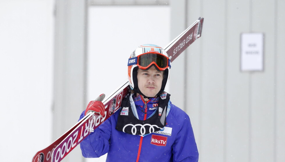 VRAKET: Tom Hilde får ikke hoppe VM-rennet i normalbakken lørdag. Foto: Terje Bendiksby / NTB Scanpix
