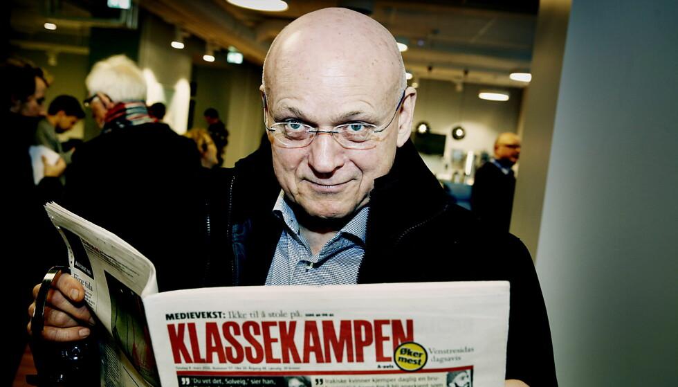 FÅR KRITIKK: Klassekampens politiske redaktør Bjørgulv Braanen. Foto: Jacques Hvistendahl / Dagbladet