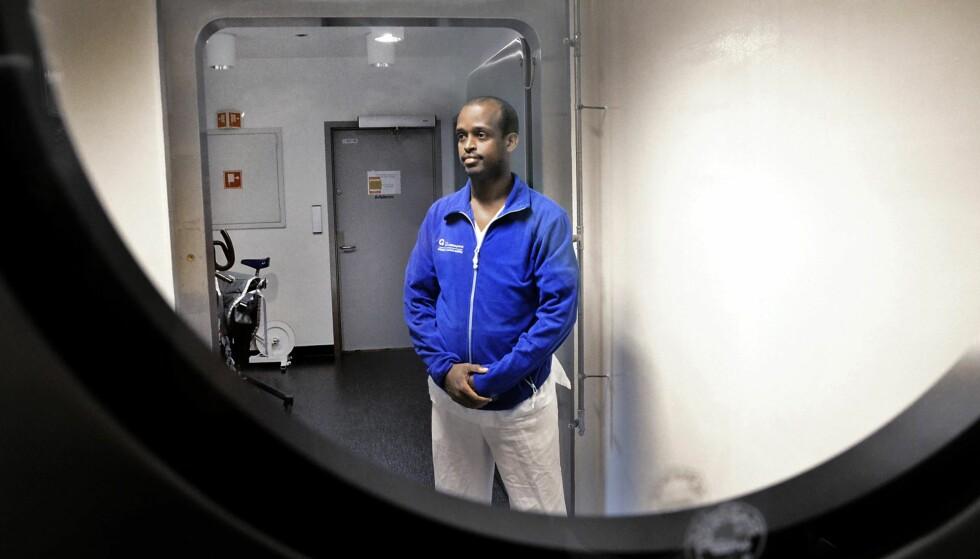 FRATATT STATSBORGERSKAP: Mahad Adib Mahamud (30) møter UDI i retten i februar. Han er en av dem som har blitt fratatt sitt statsborgerskap. UDI-direktøren tar ikke stilling iS enkeltsaker i denne kronikken, men skriver på generelt grunnlag om reglene. Foto: Torun Støbakk  / Dagbladet