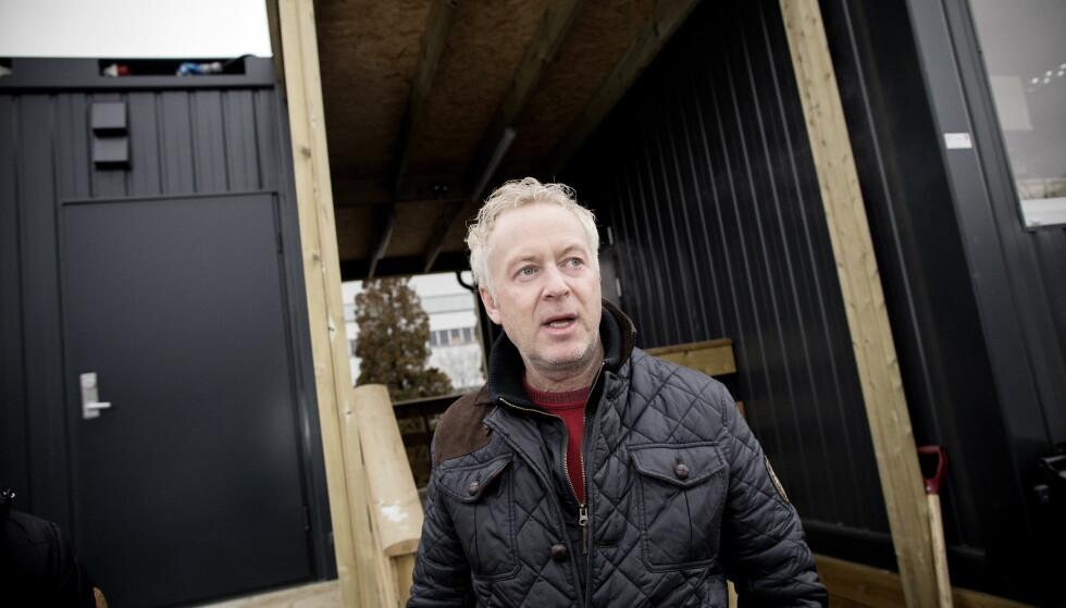 - MÅ BRUKE TIDEN PÅ RESTEN AV BUTIKKEN: I dag har ikke Veireno og sjefen Jonny Enger hentet søppel i Oslo. FOTO: TOMM W. CHRISTIANSEN/DAGBLADET.