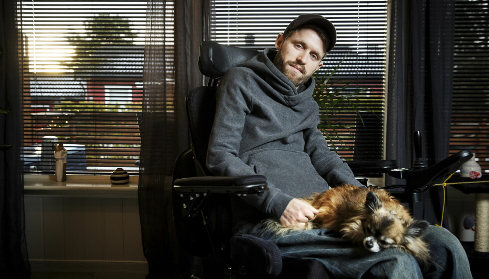 LEI: 29 år gamle Kim Andre Holm er lei av å vente på å få gjennomført soning. I 2009 ble han dømt til fengsel i forbindelse med en bilulykke i 2006. Foto: Nina Hansen / Dagbladet