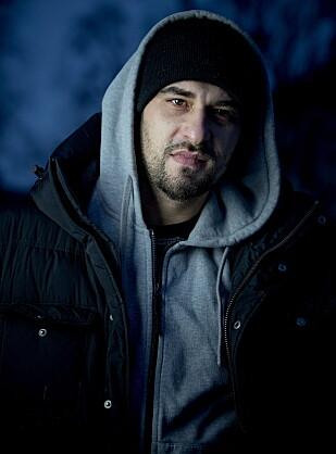 BUSINESSMANN: Ajkic har vært i hip hop-miljøet siden det startet i Bergen, men aldri rappet så mye som en linje. Foto: Bjørn Langsem / Dagbladet