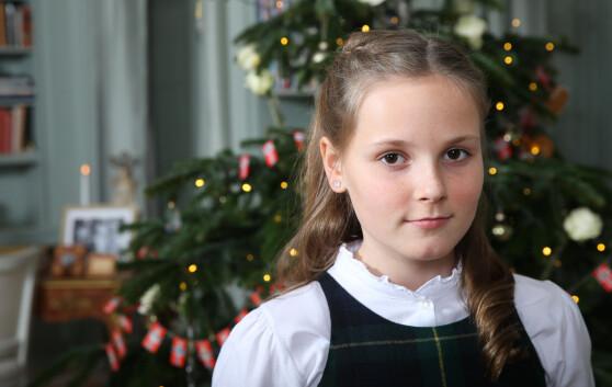 <strong>I 2015:</strong> Prinsesse Ingrid Alexandra på julefotograferingen på Skaugum i Asker i desember 2015. Foto: Lise Åserud / NTB scanpix