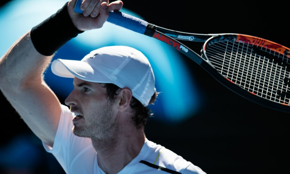 <strong>FRUSTRERT:</strong> Den britiske stjerna Andy Murray. Foto: NTB Scanpix