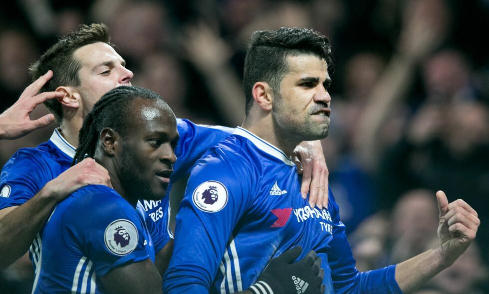 TILBAKE: Diego Costa svarte på kritikken og banket inn 1-0 hjemme mot Hull. Foto: NTB Scanpix