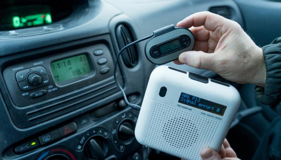 ET MUST: DAB-adapter er i ferd med å bli en del av hverdagen til svært mange. Foto: NTB Scanpix