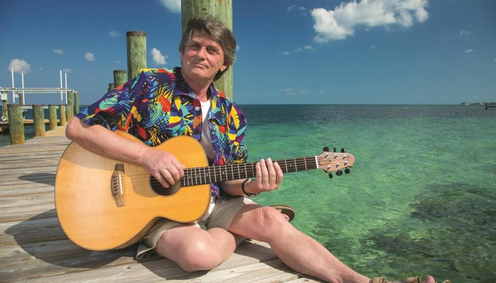 ALBUMKLAR: Mike Oldfield er nå bosatt på Bahamas der han fortsatt lager musikk. Dagbladet pratet med ham om musikken, soloene, livet og OL i London. Foto: BAHAMAS VISUAL SERVICES