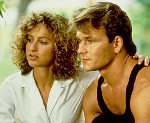 30 ÅR SIDEN: Jennifer Grey og Patrick Swayze spilte nyforelsket kjærestepar i dansefilmen «Dirty Dancing» fra 1987. Foto: NTB scanpix