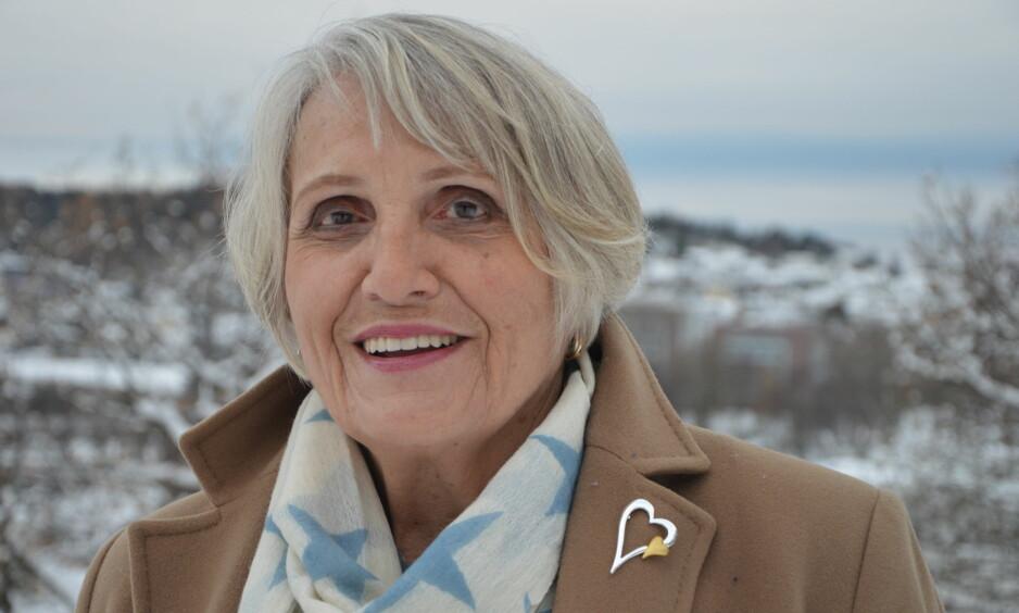RIKT LIV: Sonja har bodd i Sandefjord i 49 år. Hun har aldrilagt skjul på sitt opphav, ogheller ikke fått stygge bemerkninger. -Med tette bånd både tilfamilien i Tyskland og i Norge,har jeg hatt et rikt liv, sier hun. Foto: Randi Johnsen og privat