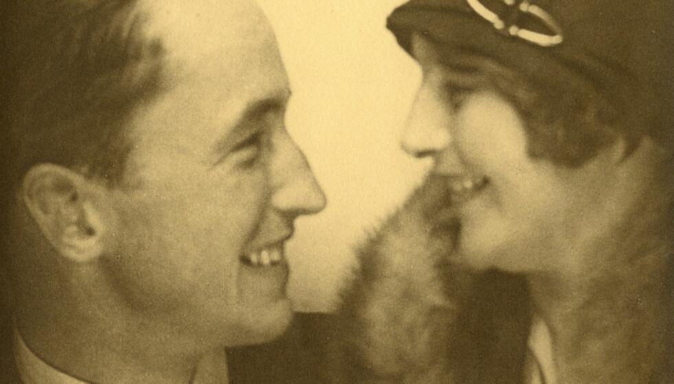 RADARPAR: Jacob og Hedvig Bjerknes - unge og forelsket. De to holdt sammen hele livet. Foto: Fra Bjerknes' private samlinger