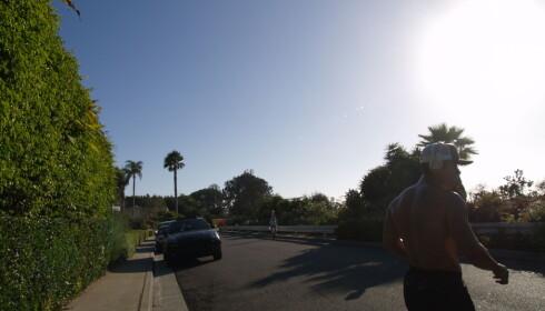 FASJONABELT: Bjerknes-ekteparet bodde i et flott strøk i Santa Monica, i en rolig gate med utsikt til Stillehavet. Nå bor en berømt arkitekt på tomta der de bodde. Foto: Torgeir P. Krokfjord / Dagbladet