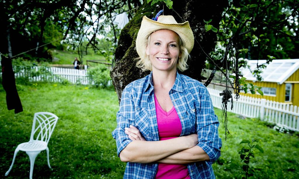 REALITYDELTAKER: Lotto-vertinne Ingeborg Myhre (42) deltar i Farmen Kjendis. Foto: Bjørn Langsem / Dagbladet