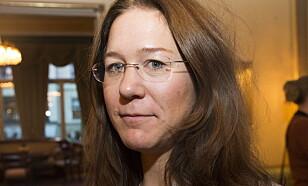 REAGERER: Anine Kierulf, ekspert på ytringsfrihet. Foto: Terje Bendiksby / NTB scanpix