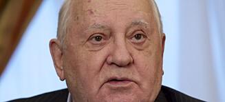 Gorbatsjovs advarsel: - Alt ser ut til at verden forbereder seg på krig