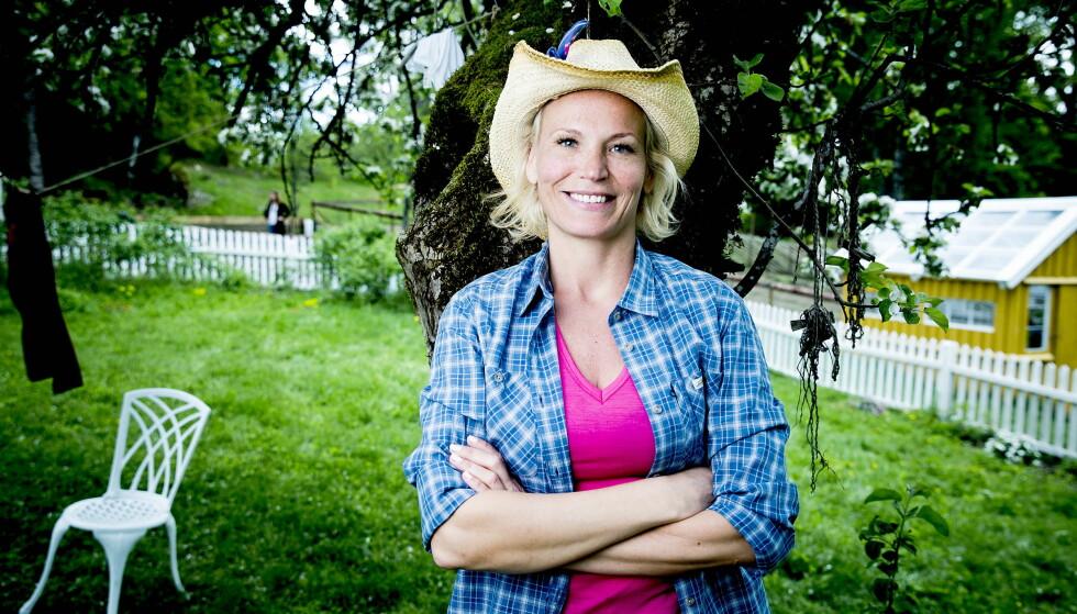 <strong>VILLE HJEM:</strong> Programleder Ingeborg Myhre (42) har tidligere gitt uttrykk for at savnet etter familien var uutholdelig under «Farmen». Overfor Dagbladet erkjenner 42-åringen at hun tapte kveldens tvekamp med vilje. Foto: Bjørn Langsem / Dagbladet