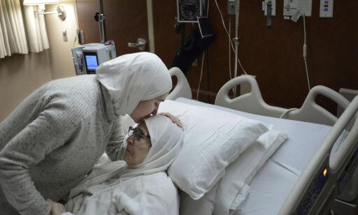 Sahar skulle ta vare på sin kreftsyke mor (76). Så satte USA foten ned