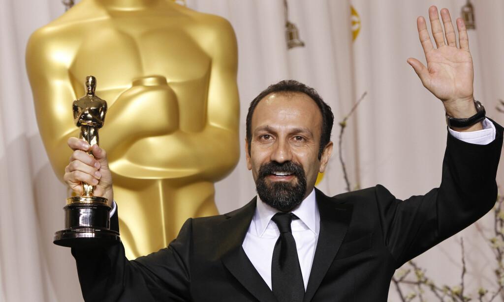 DROPPER OSCAR: «The Salesman»-regissør Asghar Farhadi kommer ikke på Oscar-utdelingen den 26. februar. Foto: NTB Scanpix
