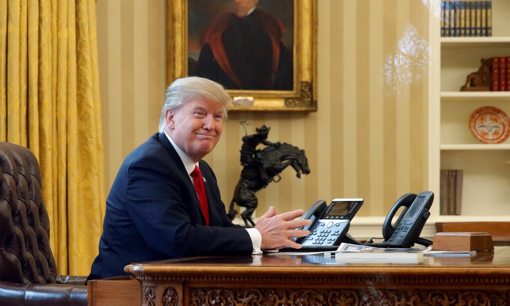 VIL HA TILBAKE REISENEKTEN: Donald Trump. Foto: REUTERS/Jonathan Ernst