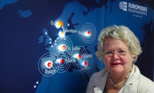 Mye arbeid: Emma Elisabeth Vennesland i Europeiske Reiseforsikring.