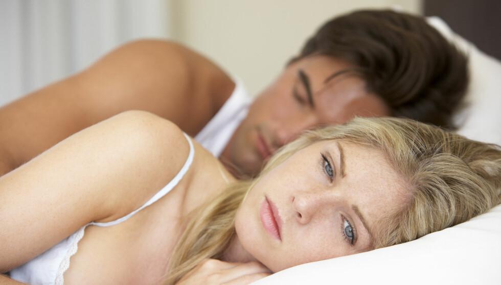 I UTAKT: Det er først når sexlysten forsvinner at mange par skjønner alvoret. Men det finnes tips som hjelper. Foto: NTB SCANPIX