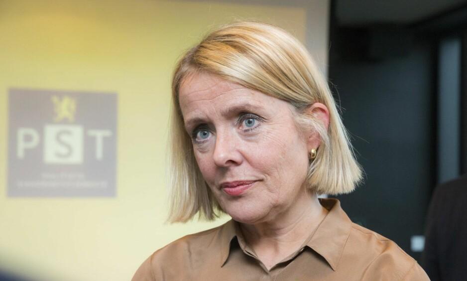 PST-SJEF BENEDICTE BJØRNDAL: La fram et skarpere trusselbilde mot Norge.