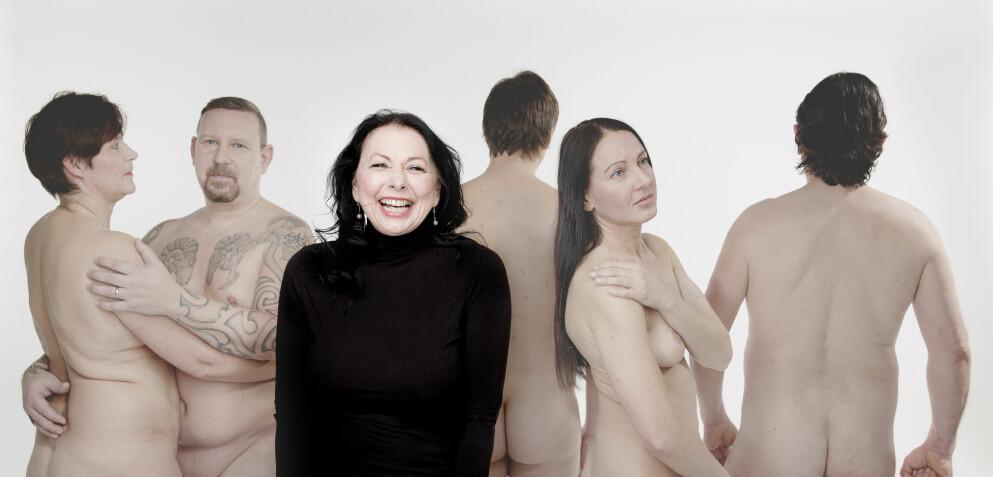 ÅPEN: Bente Træen har i flere år vært Dagbladets sexekspert og deler også raust på egne opplevelser. Foto: Agnete Brun