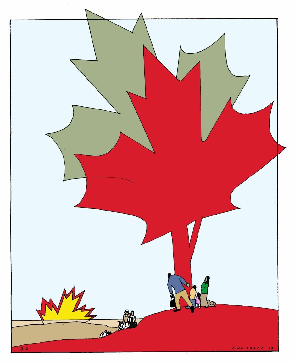 Se til Canada!