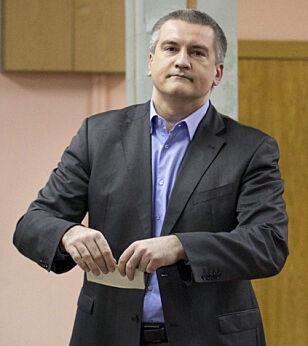 Sergei Valeryevich Aksyonov. Foto: AP / NTB Scanpix