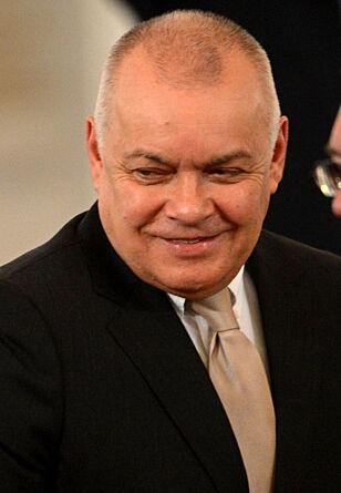Dmitry Konstantinovich Kiselyov. Foto: AFP / NTB Scanpix