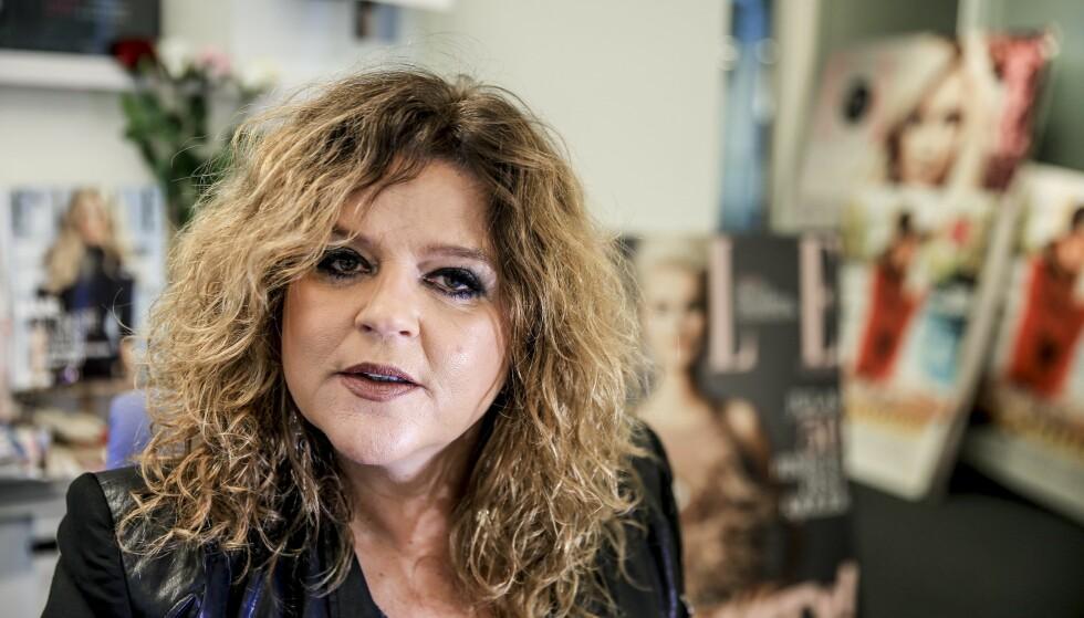 TRIST DAG: Sjefredaktør Signy Fardal i Elle og hennes ansatte fikk i dag beskjed om at mai-utgaven av Elle blir den siste. Foto Stein J Bjørge