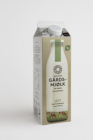 SKAL SKILLE SEG: Gårdsmjølk er ikke homogenisert, og fløten legger seg på toppen når den står. Foto: Rørosmeieriene