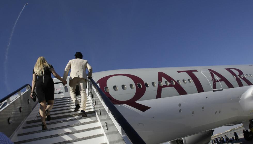 LANGTUR: Qatar har åpnet verdens lengste flyrute. Turen fra Doha til Auckland tar over 16 timer. Returen er enda lenger. Foto: NTB Scanpix