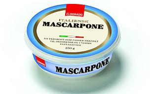 MASCARPONE: Italiensk ferskost som kan brukes både i søte og salte retter. Foto: NorgesGruppen