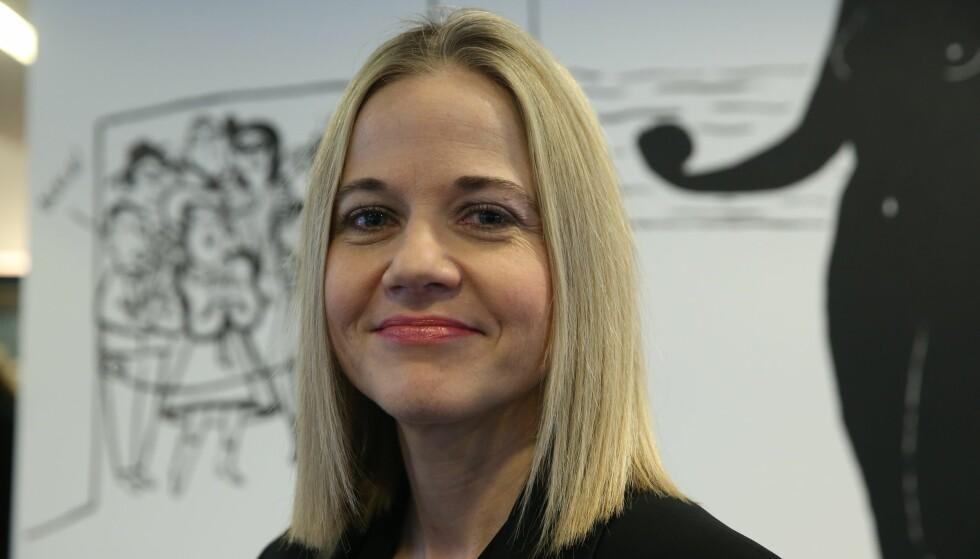 RETT KVINNE: Karin Hindsbo blir ny direktør ved Nasjonalmuseet. Styrelederen ved Nasjonalmuseet beskriver henne som en av Nordens dyktigste museumsledere, og sier hun vil være rett kvinne til å lede Nasjonalmuseet inn i en avgjørende epoke. Foto: Berit Roald / NTB scanpix
