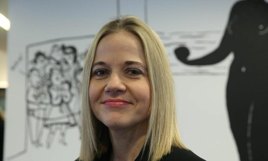 NY DIREKTØR: Karin Hindsbo ble presentert som ny direktør ved Nasjonalmuseet mandag. Hun begynner i det seks år lange åremålet 1. juni.
