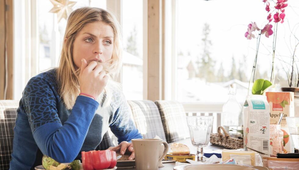 DOMMEN: Therese Johaug på hytta på Sjusjøen. Foto: Hans Arne Vedlog  / Dagbladet