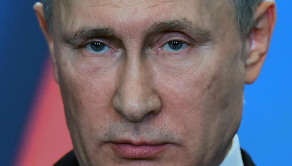 SIER NEI: Vladimir Putin. Foto: NTB Scanpix