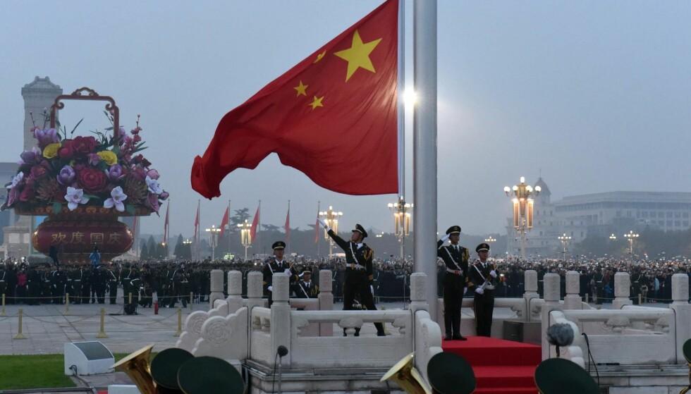Ha i mente: «Det er bare et spørsmål om tid før Kina vil oppleve ustabilitet. Kombinasjonen av rå kapitalisme og leninistisk diktatur går ikke i lengden», skrev Martin Wolf. Det bør vi ha i bakhodet, ifølge Thorbjørn Jagland.Foto: Xinhua / Sipa USA / NTB scanpix