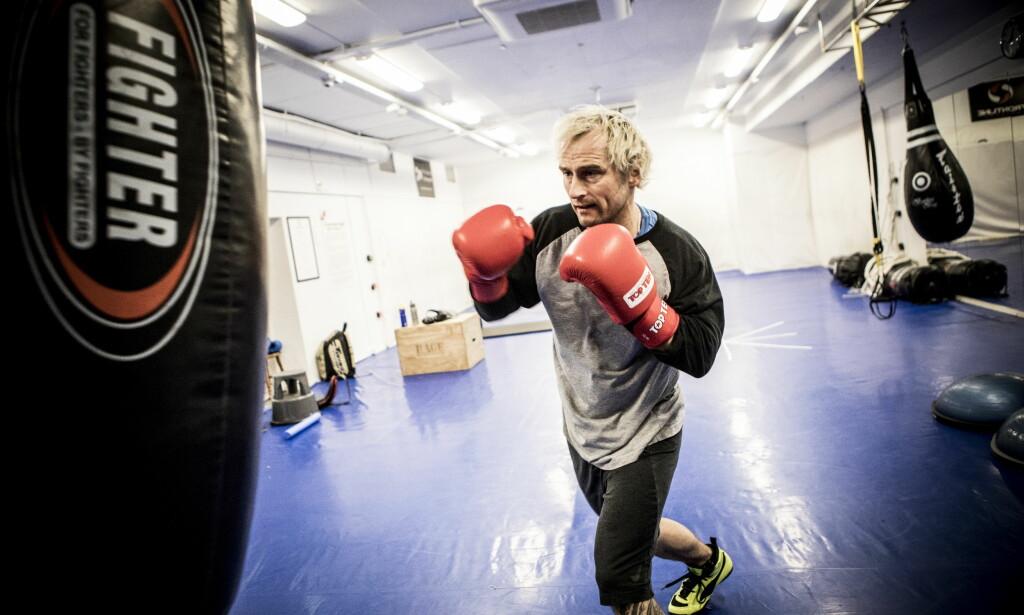 TALENT: Daniel Franck har vist stort talent for kampsport, skryter andre utøvere. Foto: Christian Roth Christensen / Dagbladet